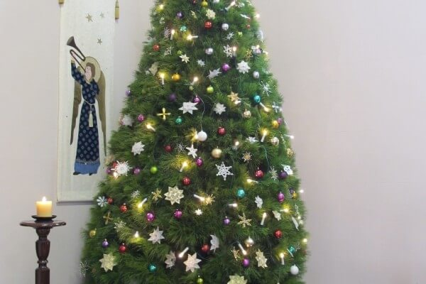 Christmas Tree at Bethlehem Lutheran Church, Adelaide